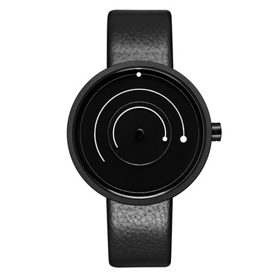 SPRING LINE BLACK LEATHER Watches