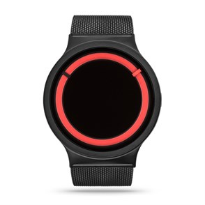 Ziiiro Eclipse Black Red Unisex Kol Saati